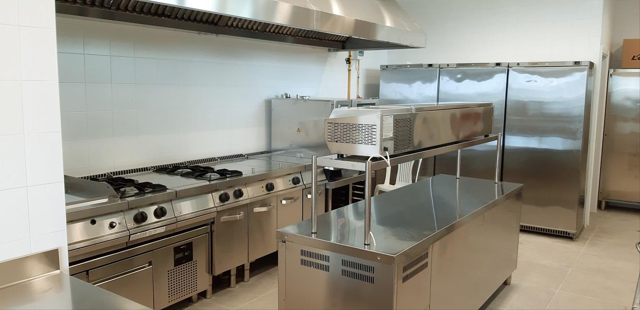 Cocina Industrial Para Restaurante Bayo Equipamientos